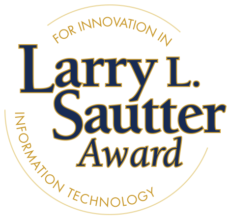 Larry Sautter award seal